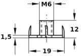 inslagmoer-m6-dh-t