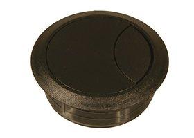 Kunststof Kabeldoorvoer 80 mm, zwart