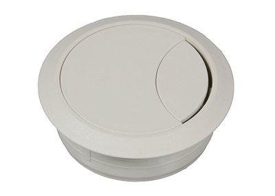 Kunststof Kabeldoorvoer 60 mm, wit