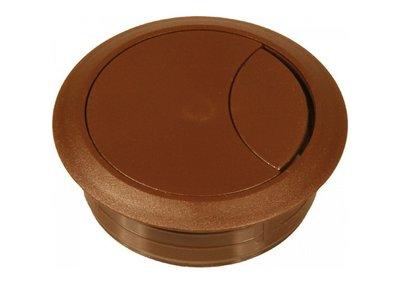 kabeldoorvoer bruin 60 mm