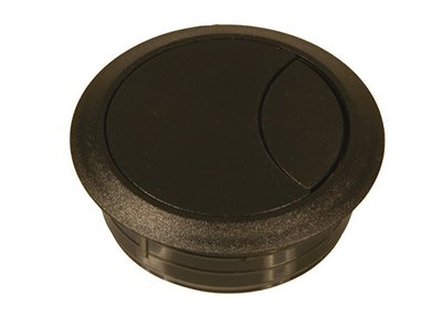 kabeldoorvoer 80 mm zwart