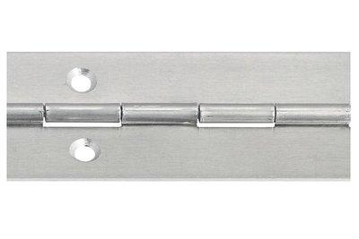Pianoscharnier aluminium